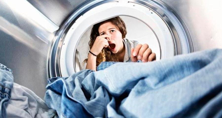 Запах в стиральной машине и как избавиться от него